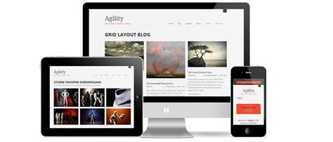 responsive grid agility responsive wordpress theme