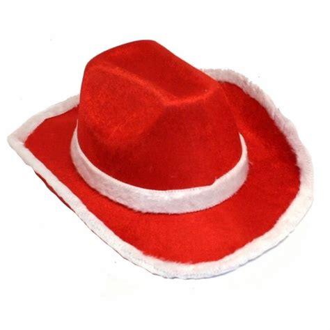 santa cowboy hat