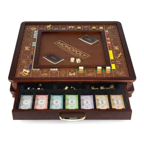 scrabble gold edition monopoly classic version luxury edition board