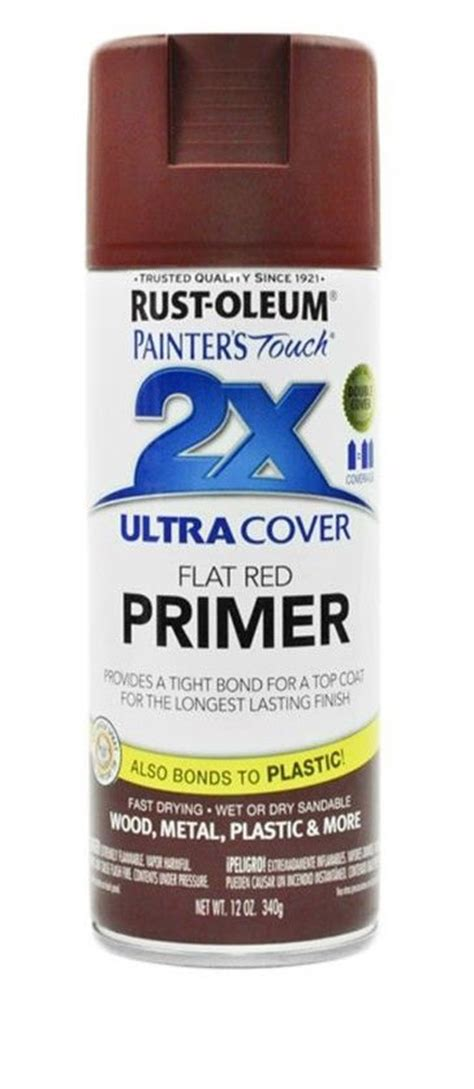 rust oleum flat ultra cover 2x primer spray paint
