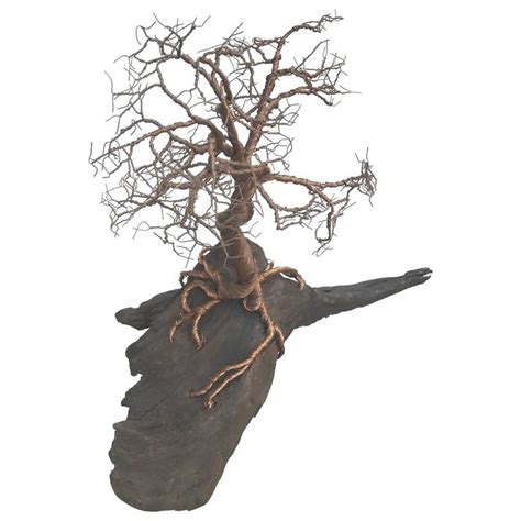 Steel Wire Tree Sculpture And Centerpiece For Sale At 1stdibs Wire Tree Centerpiece
