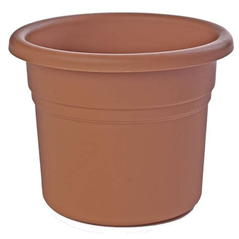 Bloem 10 In Terra Cotta Posy Plastic Planter Pp1046 The Terra Cotta Planter