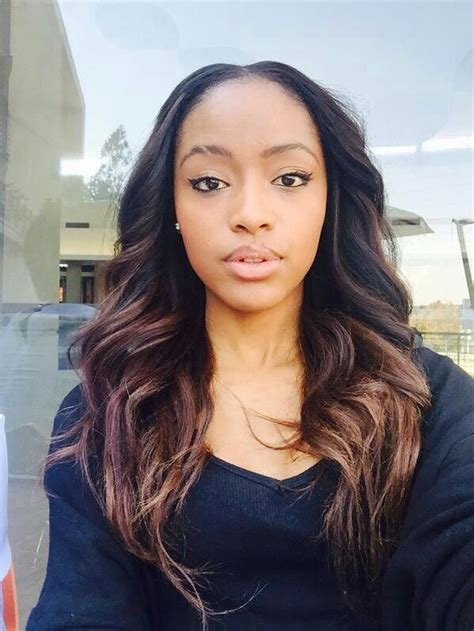 bonding hairstyles in sa south african beauty kamo with gorgeous hair extensions