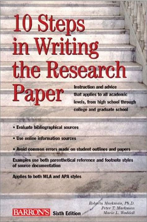6 Steps Writing Research Paper by I Need Someone To Write My Paper Jpg
