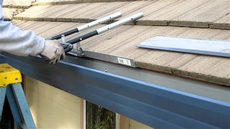 how to install super clean gutter screen for the heavy