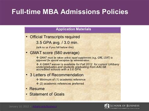 Suny Albany Mba Gmat Scores by At Albany School Of Business Graduate Programs