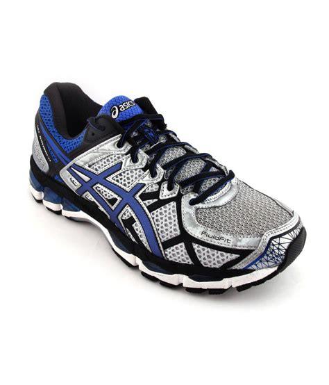 asics sport shoes asics white blue soft sports shoes gel kayano 21 price