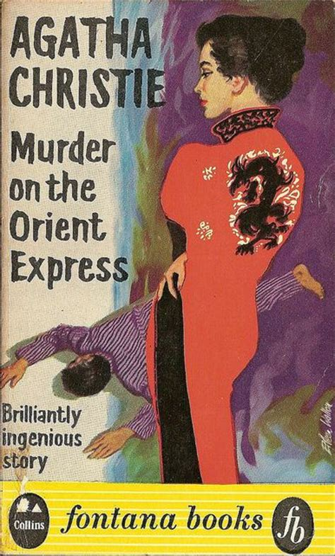 Novel Murder On The Orient Express Cover Agatha Christie 17 best images about vintage mystery covers on