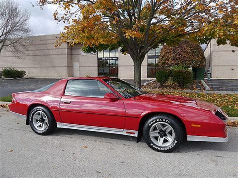 1984 chevrolet camaro z28 1984 chevrolet camaro z28 for sale alsip illinois
