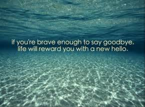 goodbye quotes new beginning quotesgram