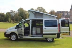 Portable Camping Kitchen With Sink by Peugeot Expert Dispatch Campers Scotland