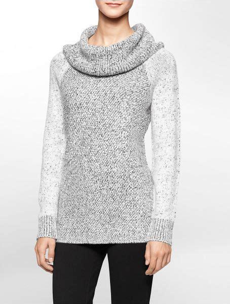 Uniqlo S001 White Lable Grey Wash calvin klein white label two tone cowl neck sweater lyst