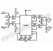 Stk4141 Stereo Amplifier Circuit Diagram  And