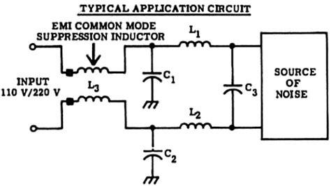 common mode emi inductor common emi mode suppression inductors pico