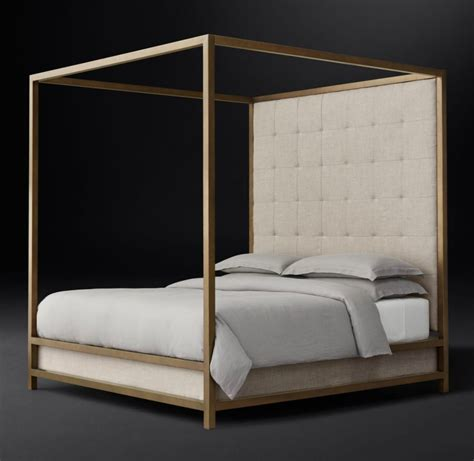 modern four poster bed high end beds for a long winter s nap