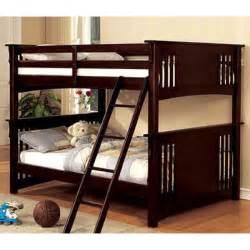 Loft Bed Of Miami Miami Ii Bunk Bed Espresso