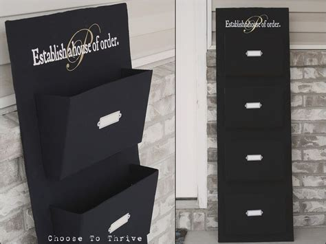 diy wall mail organizer black and white home