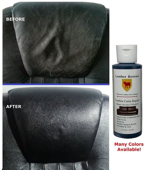 vinyl couch repair leather restore color repair 4 oz bottle leather vinyl