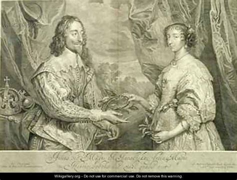 charles i 1600 49 and henrietta 1609 69 after
