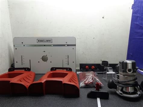 Craftsman Router And Router Table Combo by Craftsman Router And Router Table Combo Model 37595 Ebay