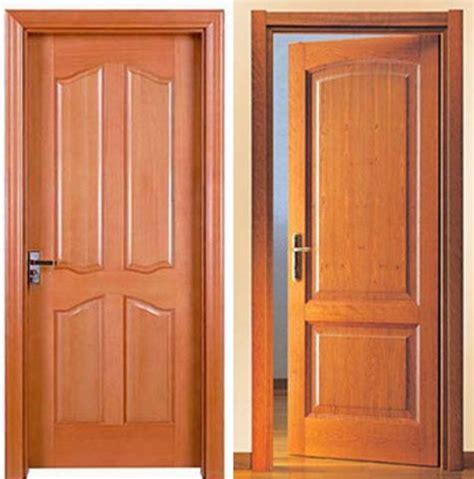 Pintu Kayu Multiplek 15 model pintu kayu terpopuler 2018 desain rumah minimalis 2018