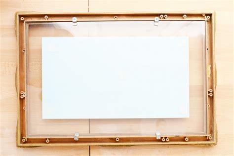 photofiddle floating frame floating frames float chic vintage inspired diy floating frame shelterness