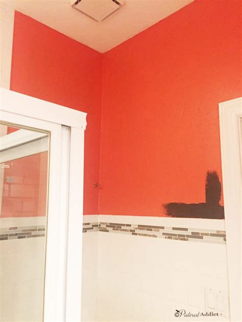 orange paint picks for bathrooms clockwise from top left why you shouldn t pick a paint color from pinterest