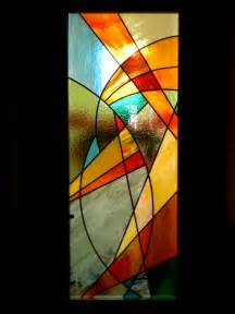 vitrail abstrait porte int 233 rieure vitraux d