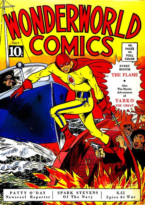 comic book pictures classic comic book cover wonderworld comics the