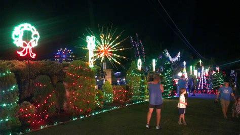 chriatmas lights lights at everton brisbane