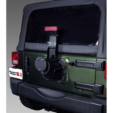 Jeep Jk Spare Tire Carrier All Things Jeep Spare Tire Carrier Spacer For Jeep Cj