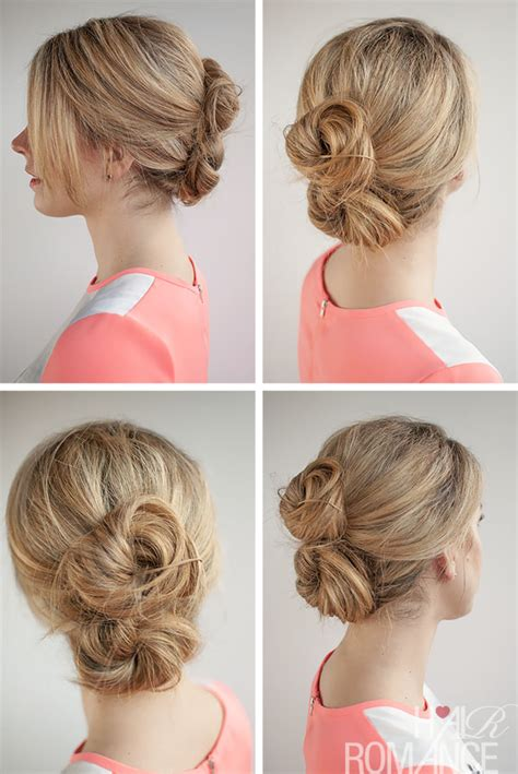 hair in days 30 buns in 30 days day 26 the double bun hair romance