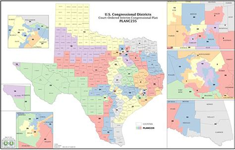 texas redistricting map federal court offers texas redistricting solution the baylor lariat