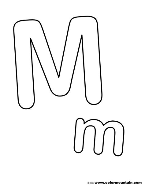 M Word Coloring Pages by M Words Coloring Page Image Clipart Images Grig3 Org