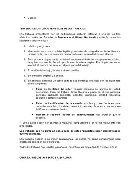 un escrito sobre la bandera convocatoria s 237 mbolos patrios 2015 2016