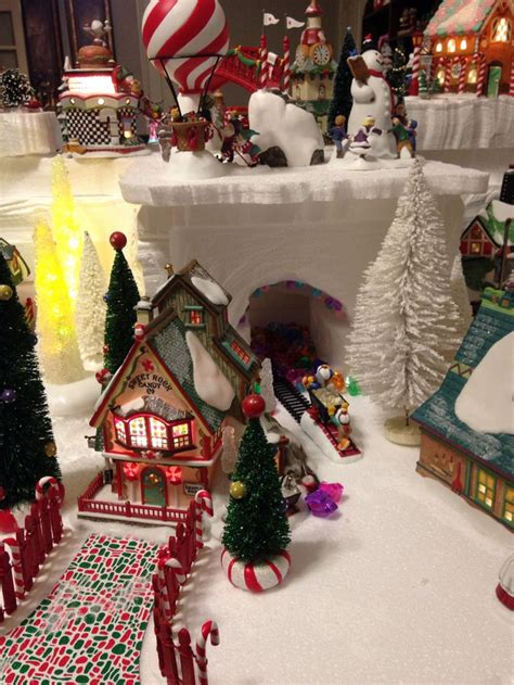 585 best christmas village images on pinterest christmas