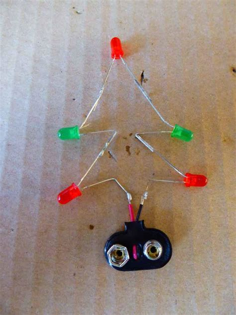how to connect led lights on christmas tree led tree the soldering station