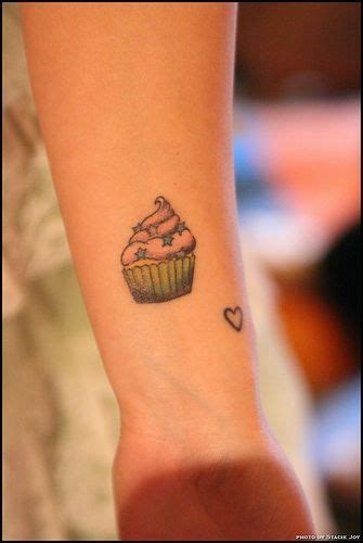 small cupcake tattoos cupcake ddnt where to put this pic lol
