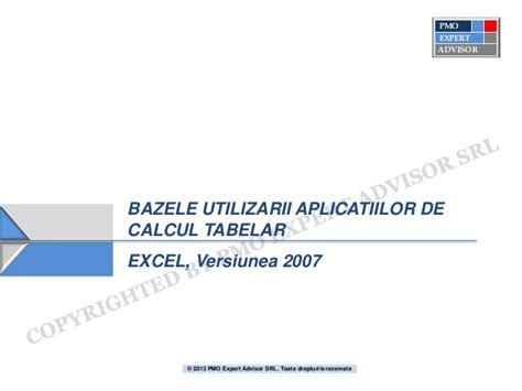 tutorial excel slideshare excel 2007 tutorial basic