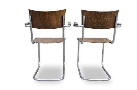 bauhaus sedie sedia cantilever bauhaus mart stam thonet b43f italian