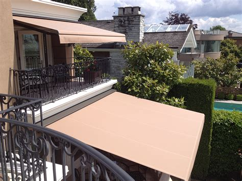Retractable Deck Awning by Retractable Deck Awnings Rainier Shade
