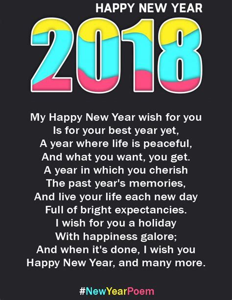 new year greetings poem 1504 best happy new year 2018 wishes quotes poems pictures