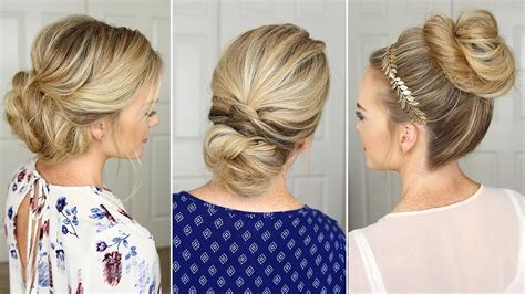2018 popular easy do it yourself updo hairstyles for medium length hair
