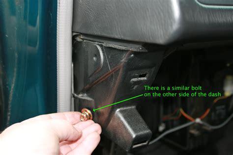 vehicle repair manual 1993 subaru svx instrument cluster service manual dash removal 1995 subaru svx 1995 subaru svx remove glove box there is a