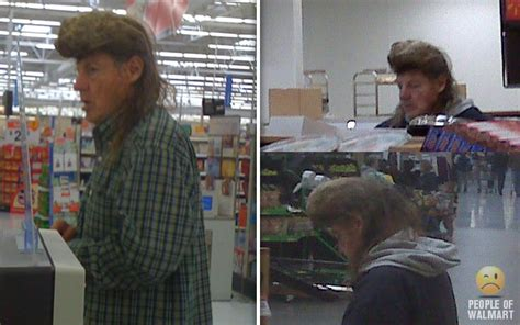 worst haircuts at walmart worst mullets haircuts 25 photos people of walmart
