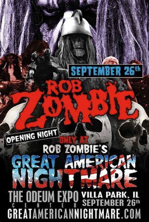 rob american nightmare rob s great american nightmare announces chicago