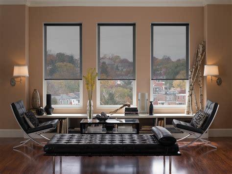 Modern Living Room Blinds Roller Blinds Modern Living Room Denver By Dsc