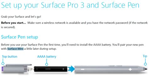 3 surface pro pen batteries microsoft confirms the surface mini accidentally