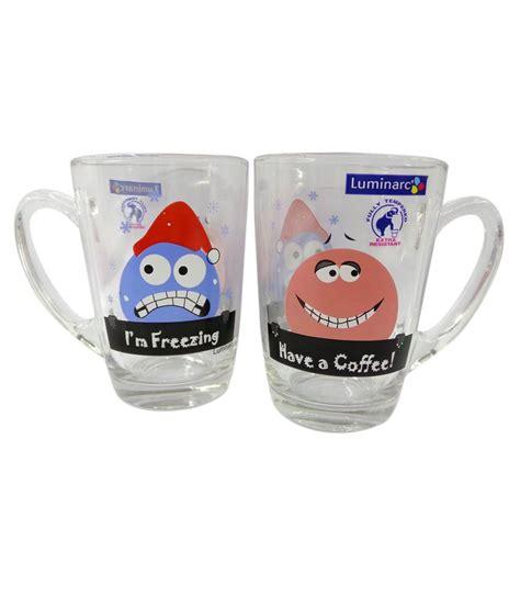 Gelas New Morning Tea Mug Luminarc luminarc new morning decorative mug set 6 pcs buy at best price in india snapdeal