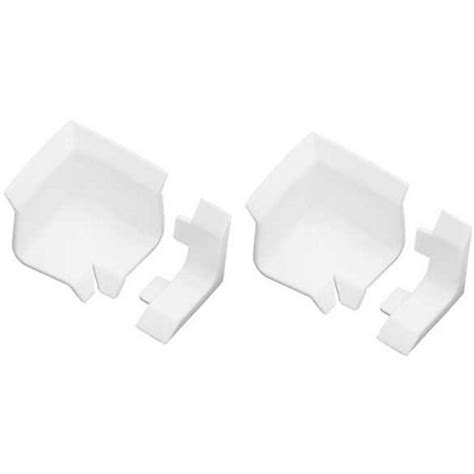 bathtub seal homelux bath seal corners and ends white 2 pack